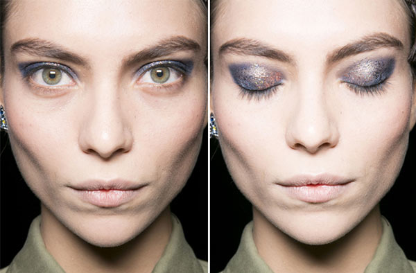 How to Wear Glitter Eye Makeup