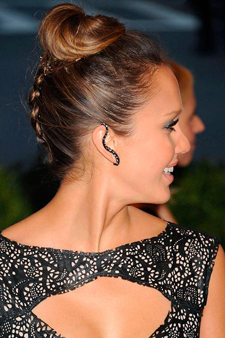 Celebrity Braided Hairstyles to Wear on Your Wedding Day