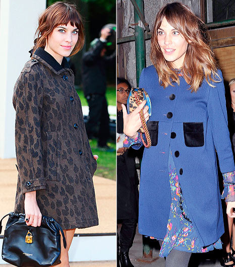 Alexa Chung's Winter Wardrobe Essentials