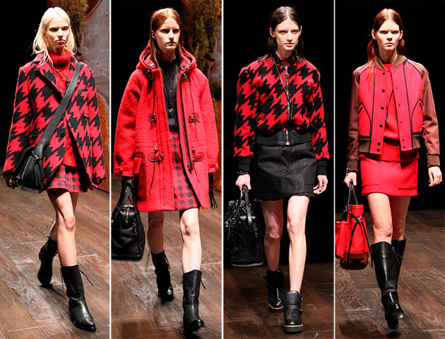 NYFW: Coach Fall 2014 Collection