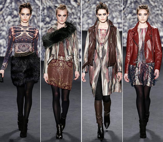 NYFW: Nicole Miller Fall 2014 Collection
