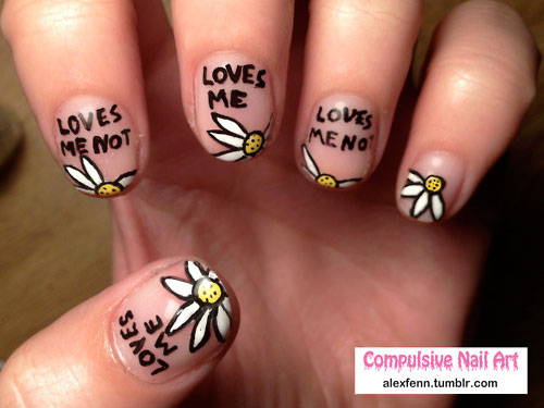 Cute valentines day nail art designs women hairstyles makeup cute valentines day nail art designs prinsesfo Gallery