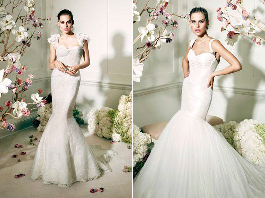 Zac Posen for David's Bridal First Wedding Line