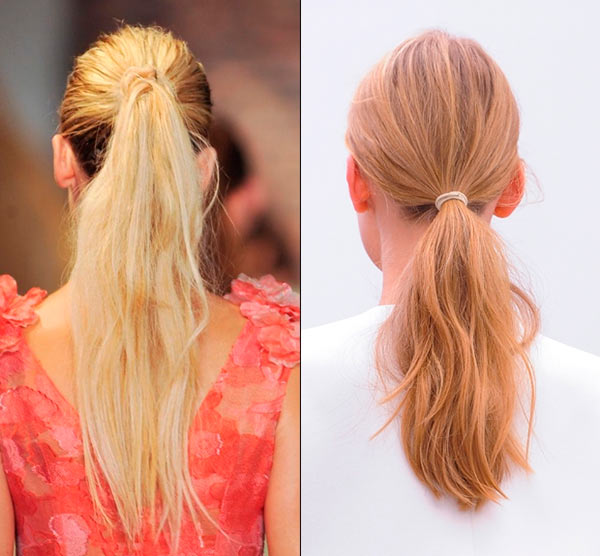 The Low Ponytail Trend for 2014