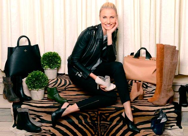 Cameron Diaz For La Victorie Shoe Line