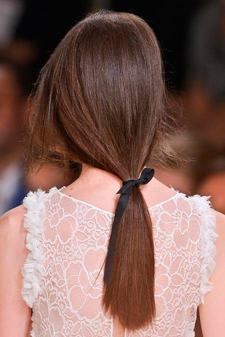 How to Style Undone Low Ponytail