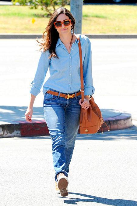 How Celebs Wear Boyfriend Jeans So Cool!