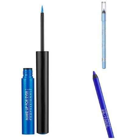 Is Wearing Blue Eyeliner Ever Okay?