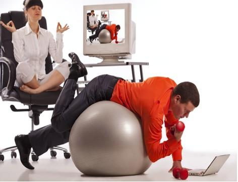 Deskercise – How to Lose Weight While Sitting at Your Desk