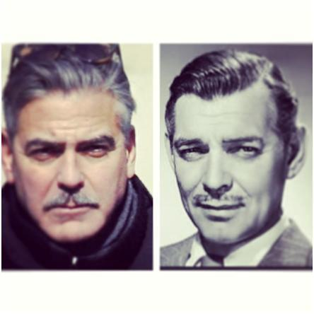 Current and Past Celebrity Doppelgangers – George Clooney and Clark Gable