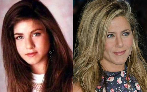 amazing celebrity transformations then and now women