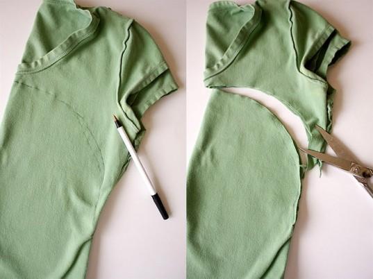 DIY T-Shirt Surgery